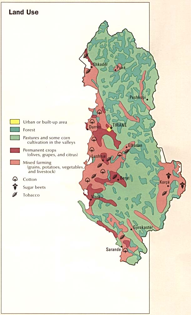 Download free world landuse maps albania land use gumiabroncs Gallery