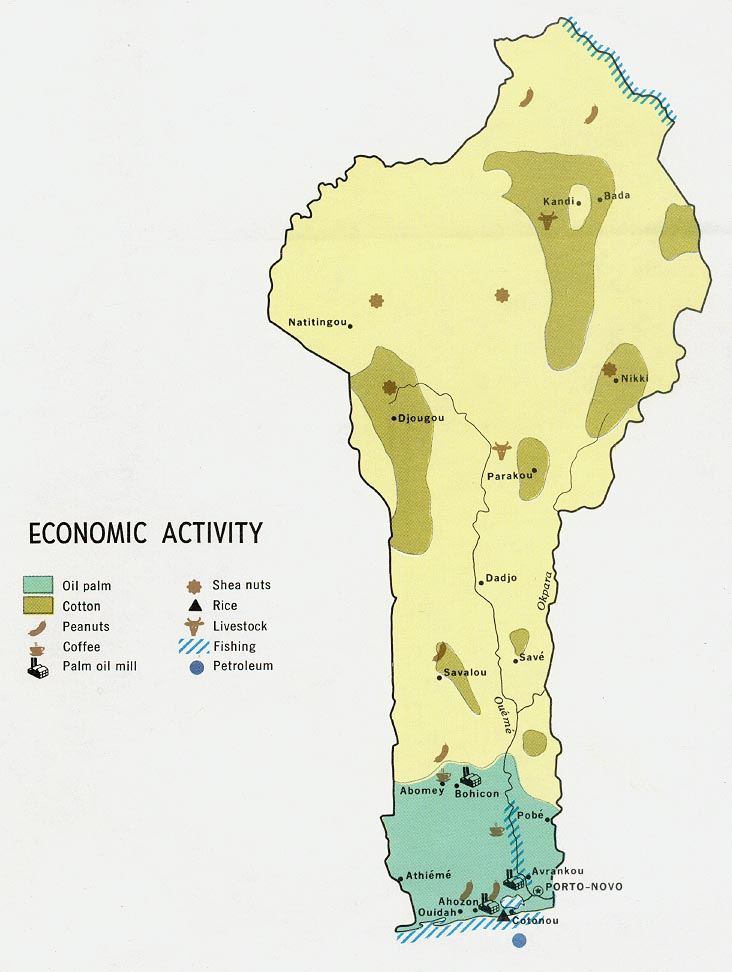 Download Free World Industry And Economy Maps - Peru population map 1970