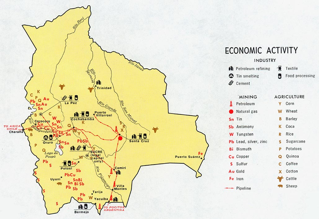 Download free world industry and economy maps bolivia economic activity gumiabroncs Choice Image