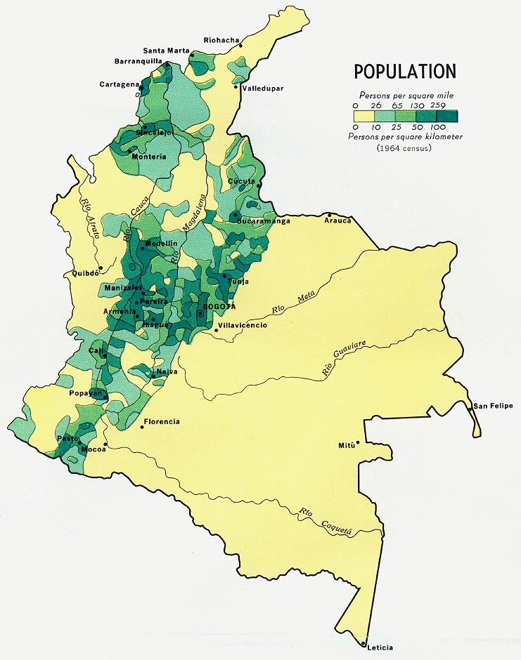 Download Free World Population Maps - Peru population map 1970