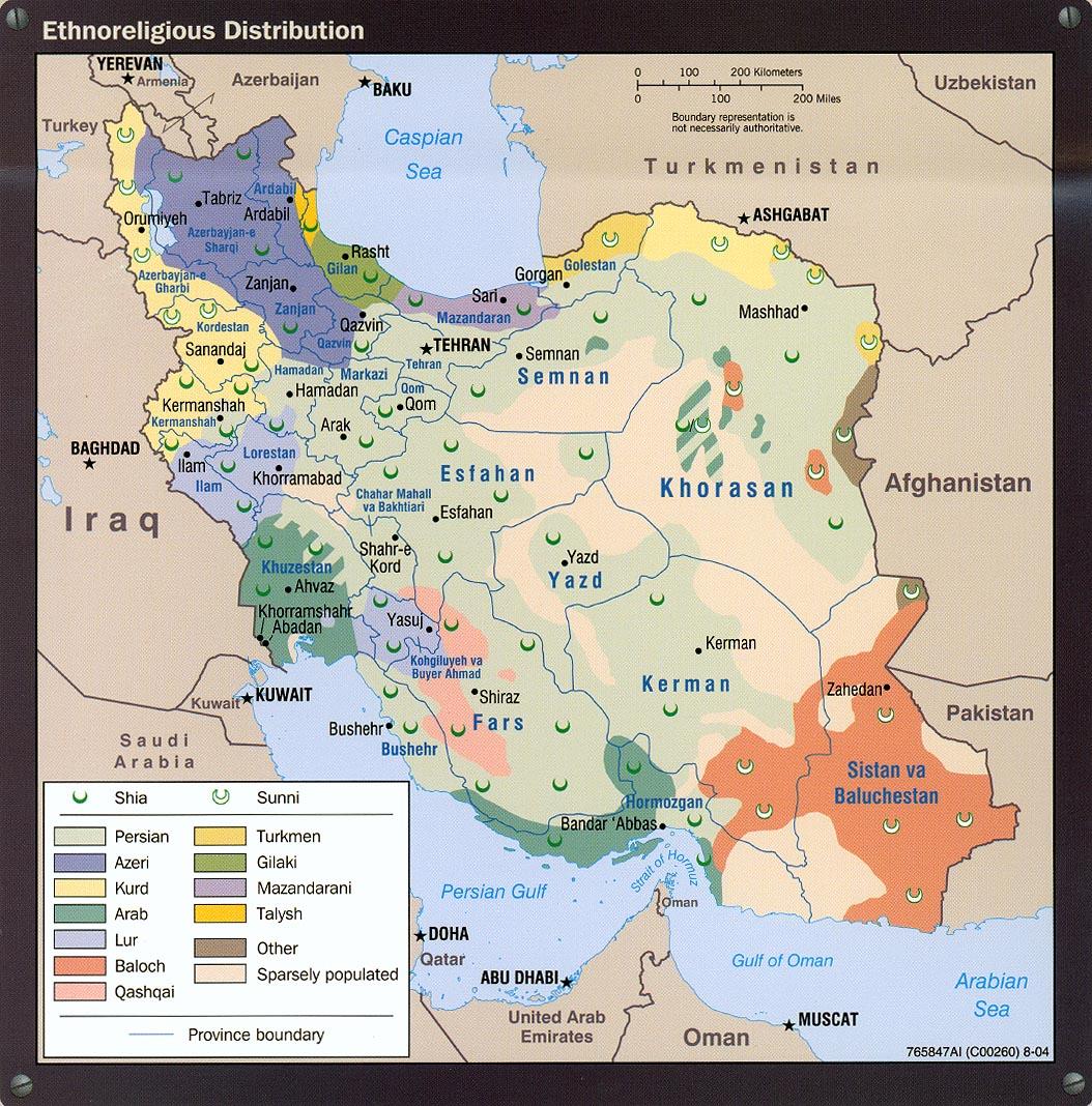 Download Free World Ethnic - Religion Maps