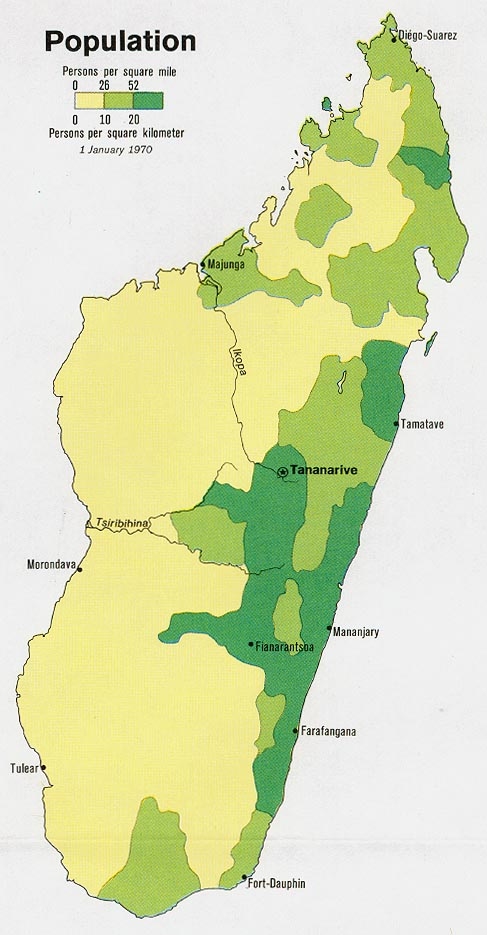 Madagascar - Population in the largest city (% of urban population ...