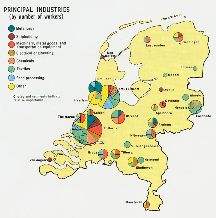 Download Free World Industry and Economy Maps