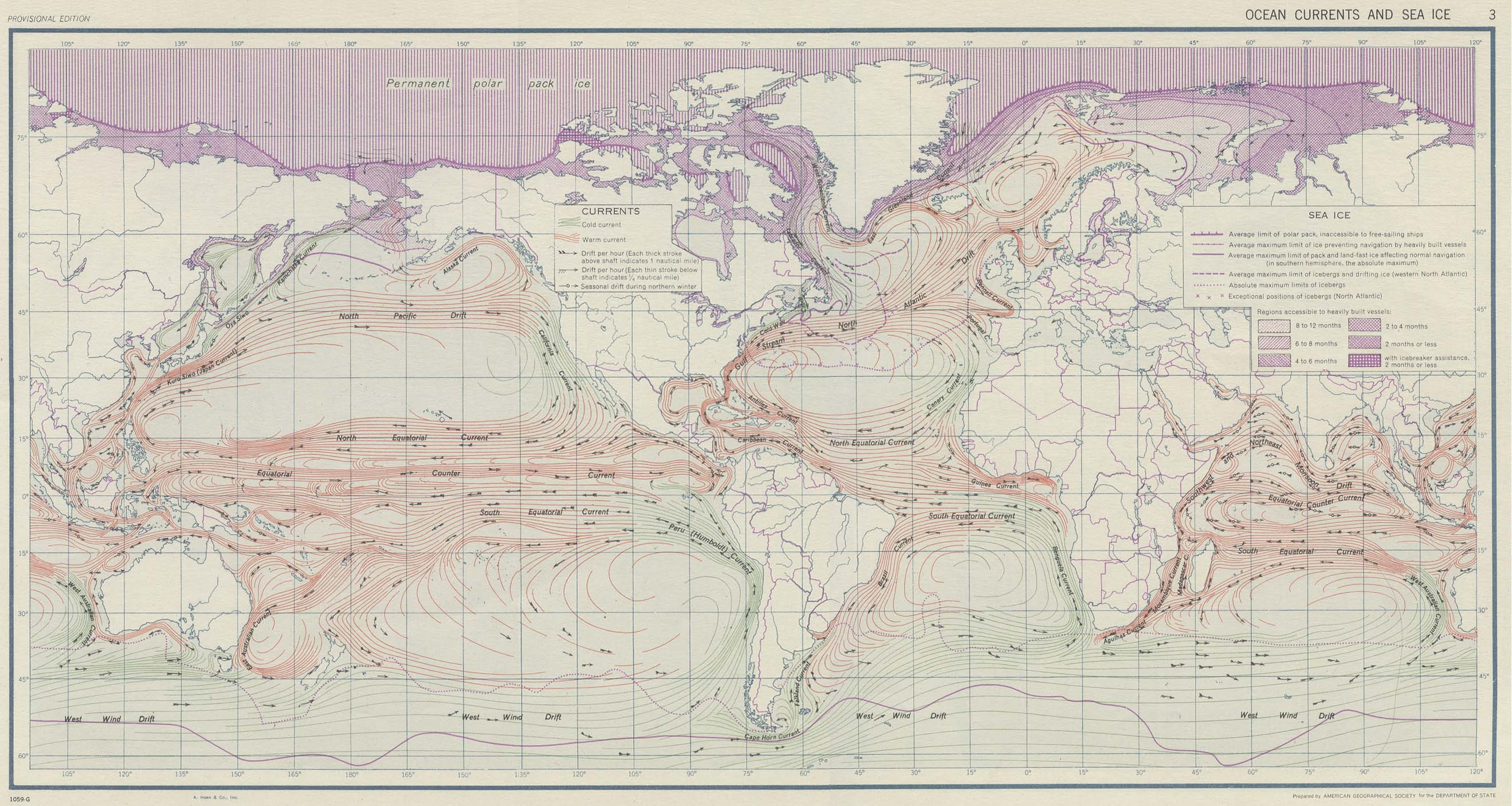 Download free world climate maps world ocean currents and sea ice gumiabroncs Images