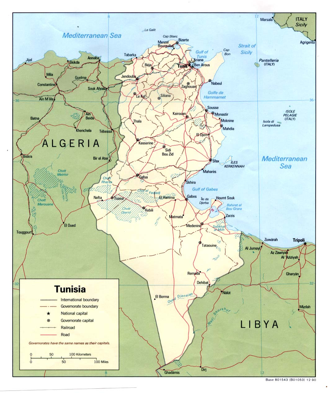 Download free tunisia maps gumiabroncs Image collections