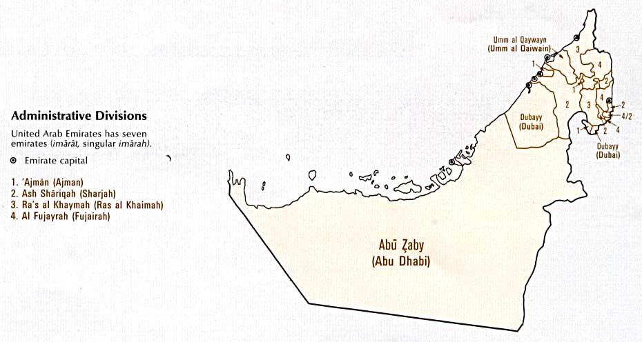Download Free United Arab Emirates Maps