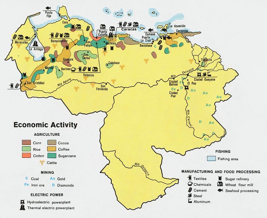 Download Free Venezuela Maps - Venezuela map