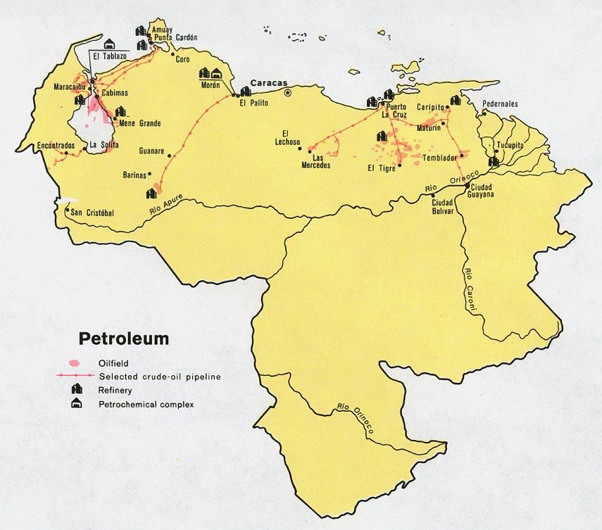 Download free venezuela maps venezuela petroleum gumiabroncs Choice Image