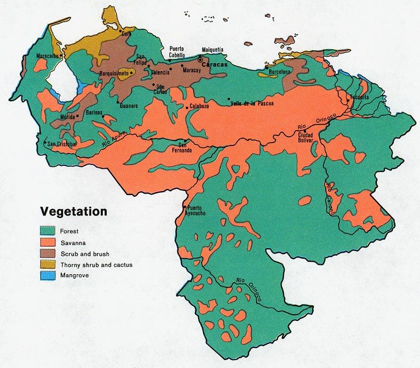 Download Free Venezuela Maps
