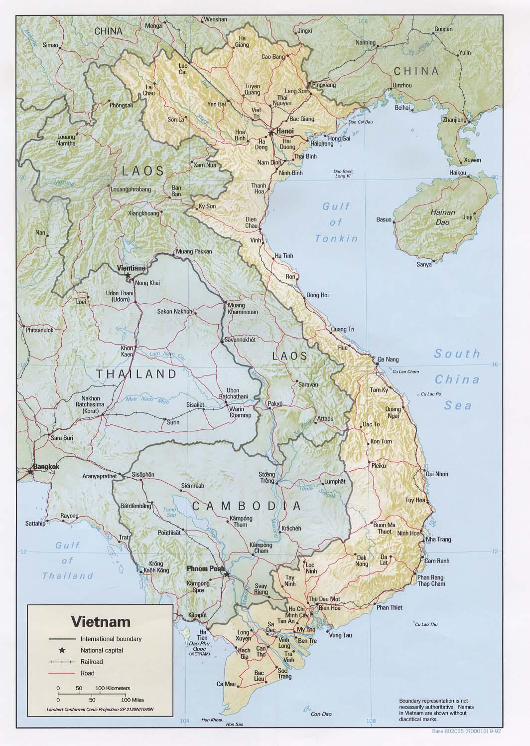 Download Free Vietnam Maps