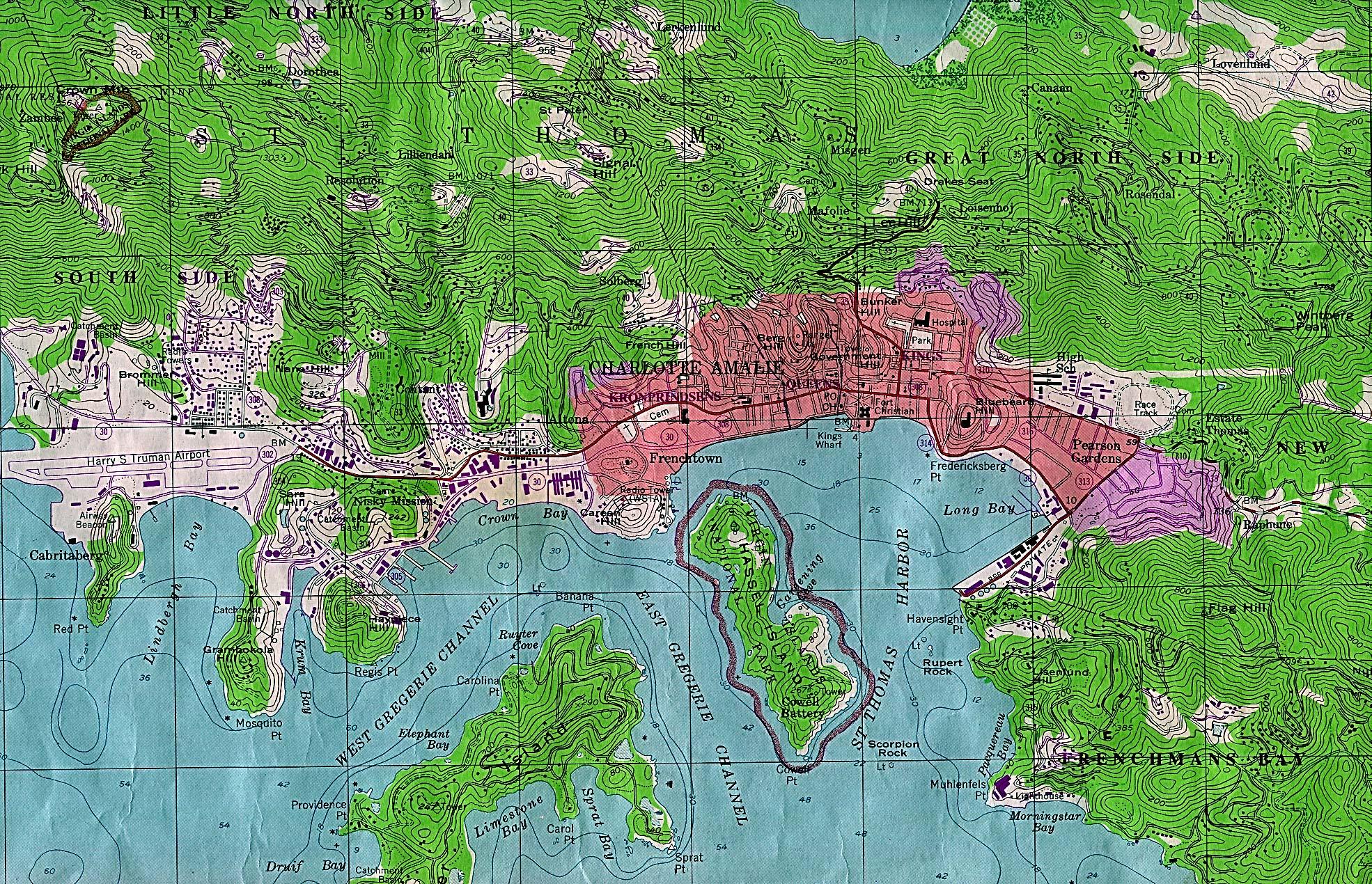 Download Free Virgin Islands Maps