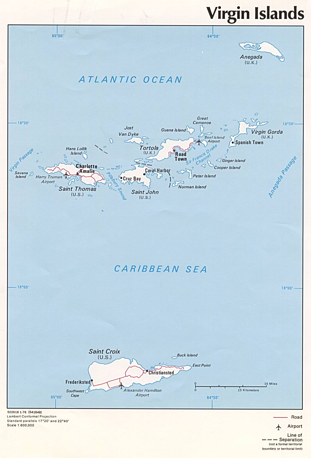 virgin islands us external territory