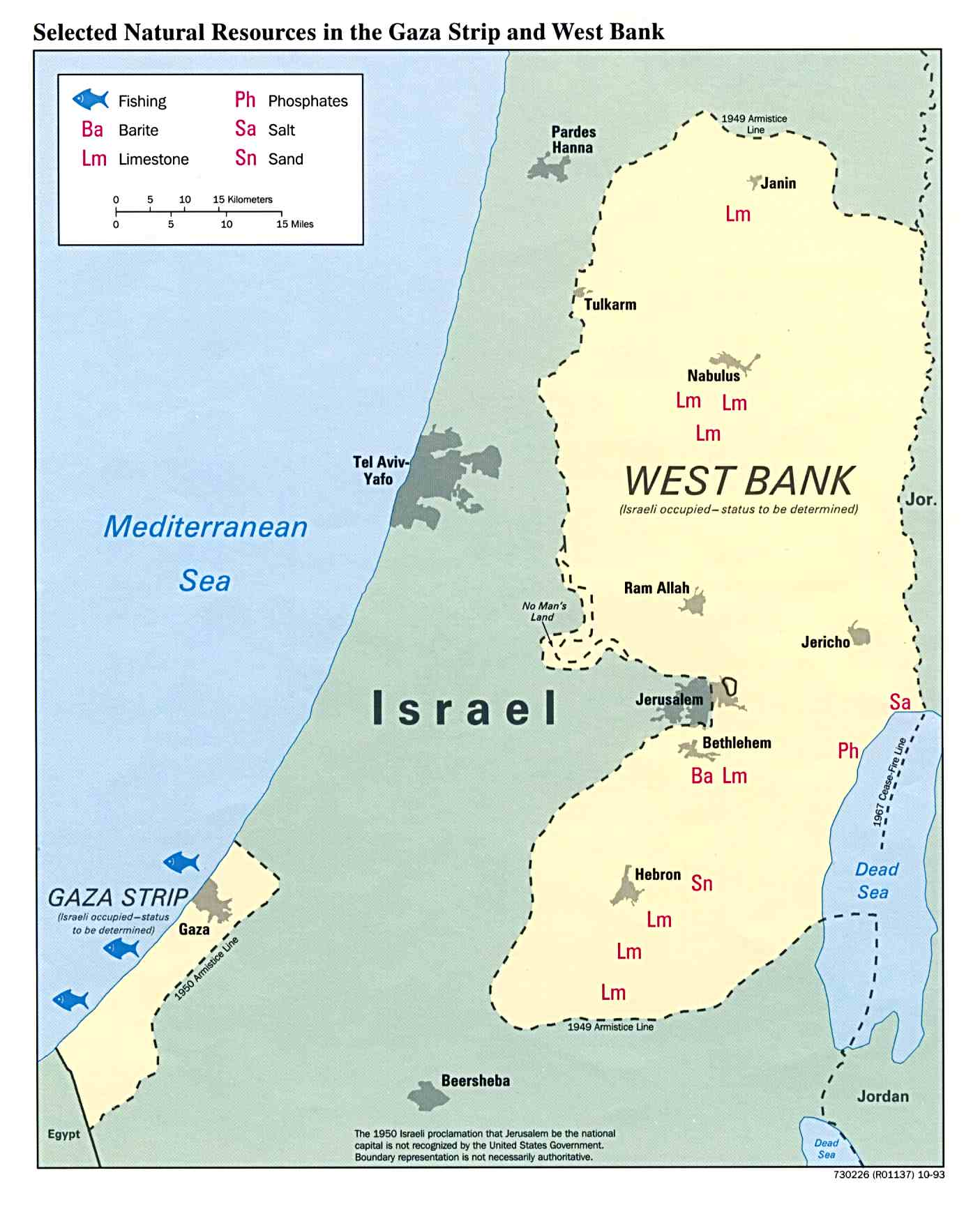 West bank and gaza strip pop