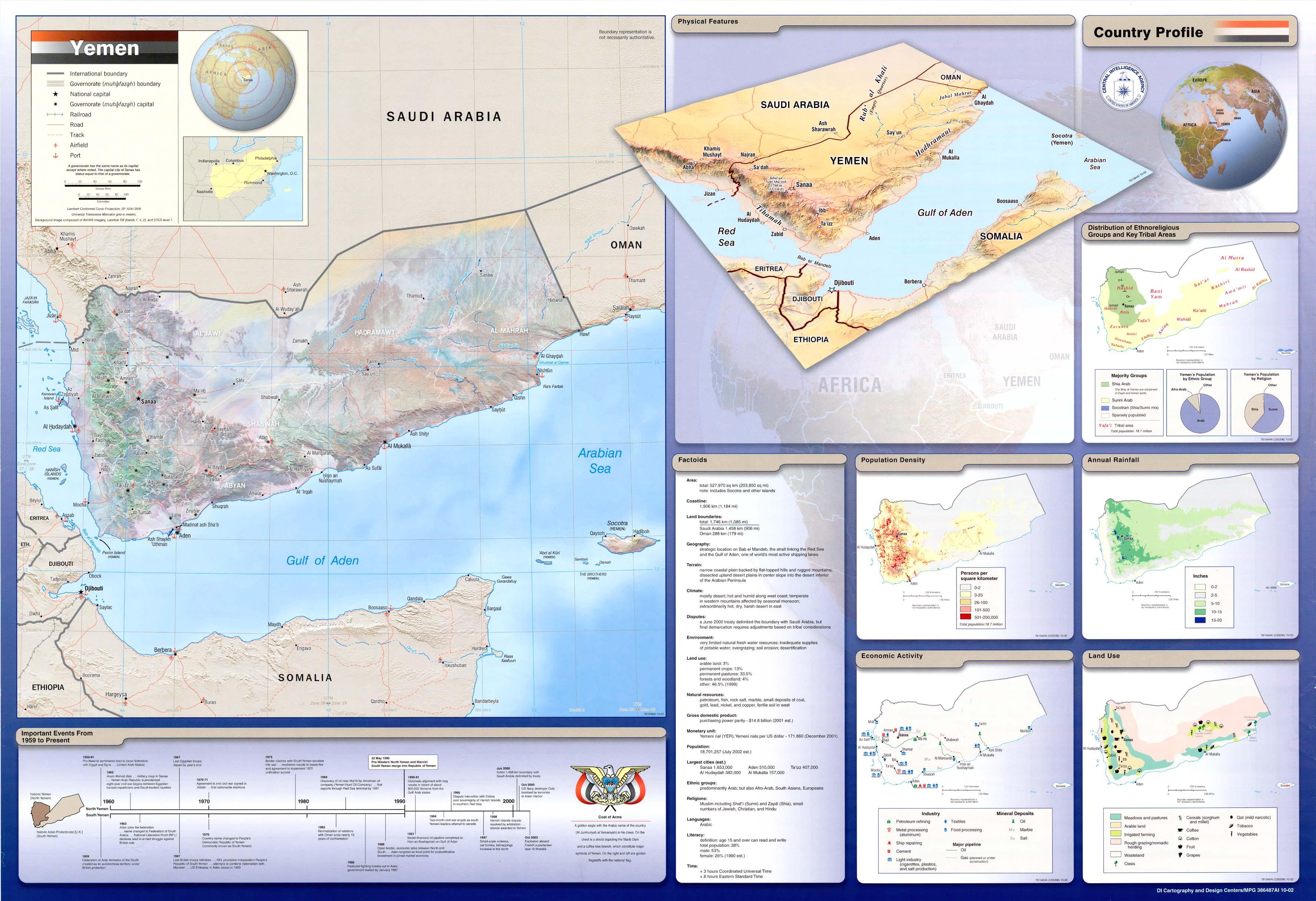 Download Free Yemen Maps - Map of yemen
