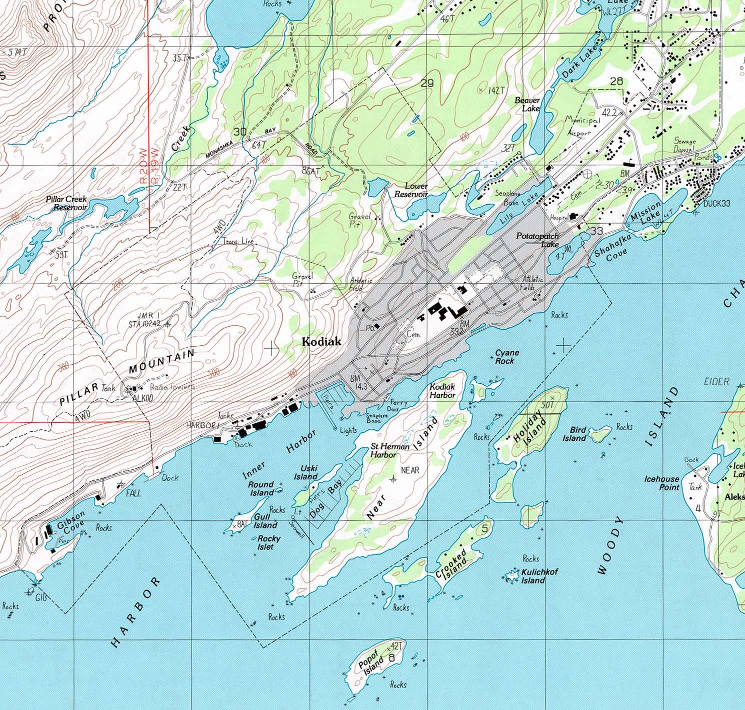 Download Free Maps of Alaska