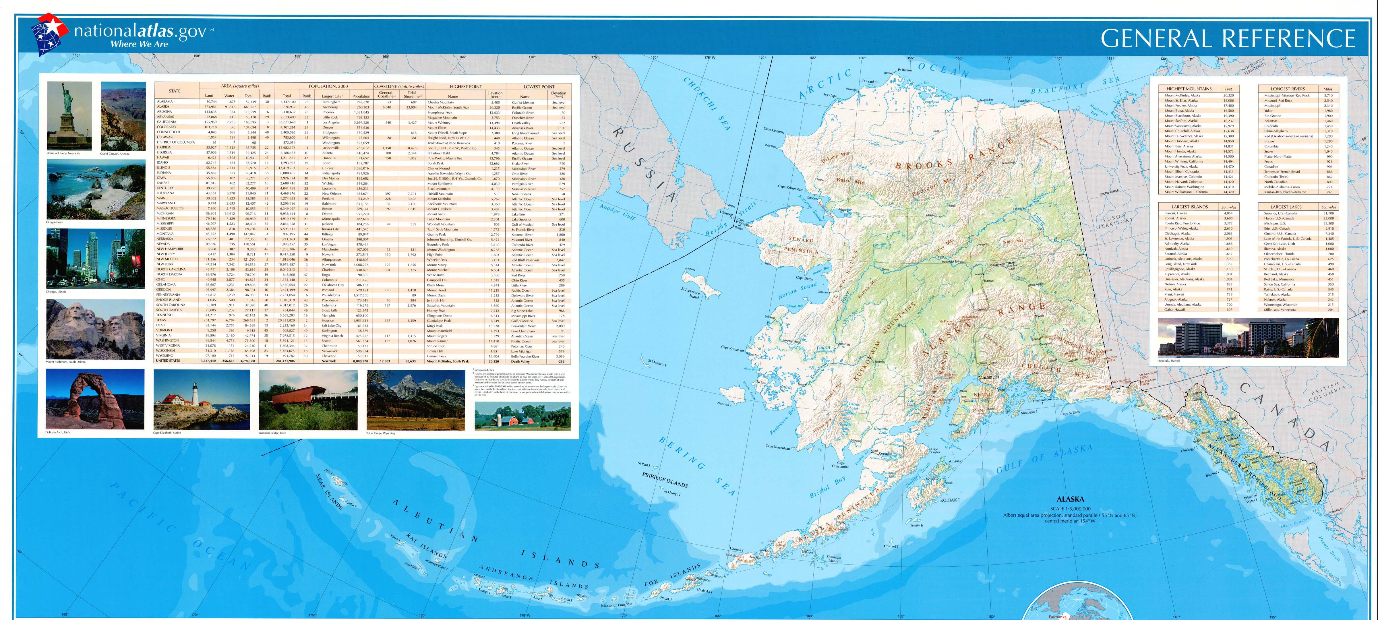 Download free maps of alaska alaska reference map gumiabroncs Choice Image