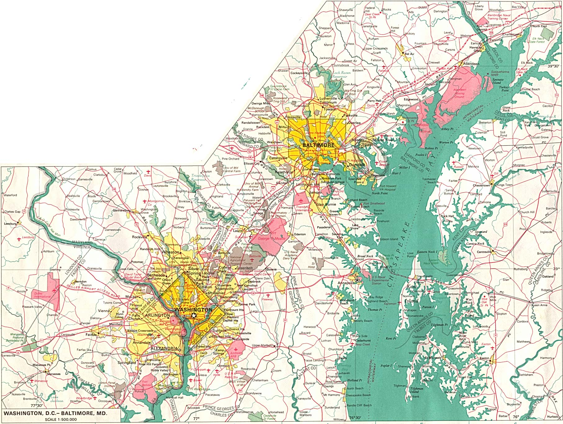 Download Free Maps Of The District Of Columbia