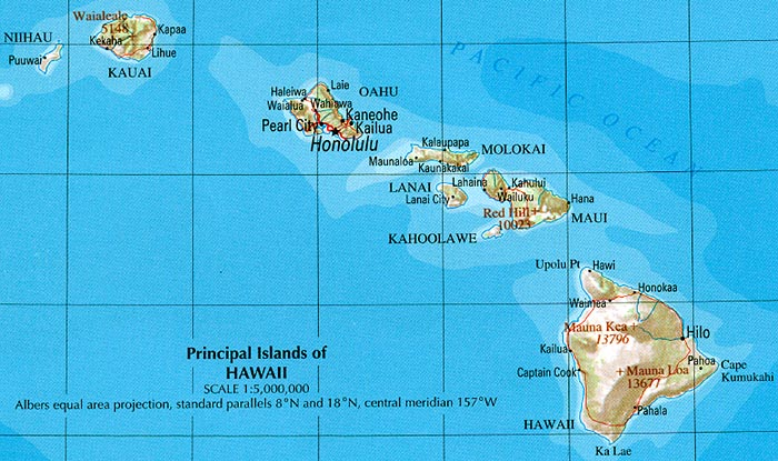 Download Free Maps Of Hawaii