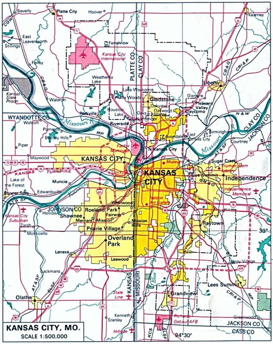 Download Free Missouri Maps - Free pdf of us maps