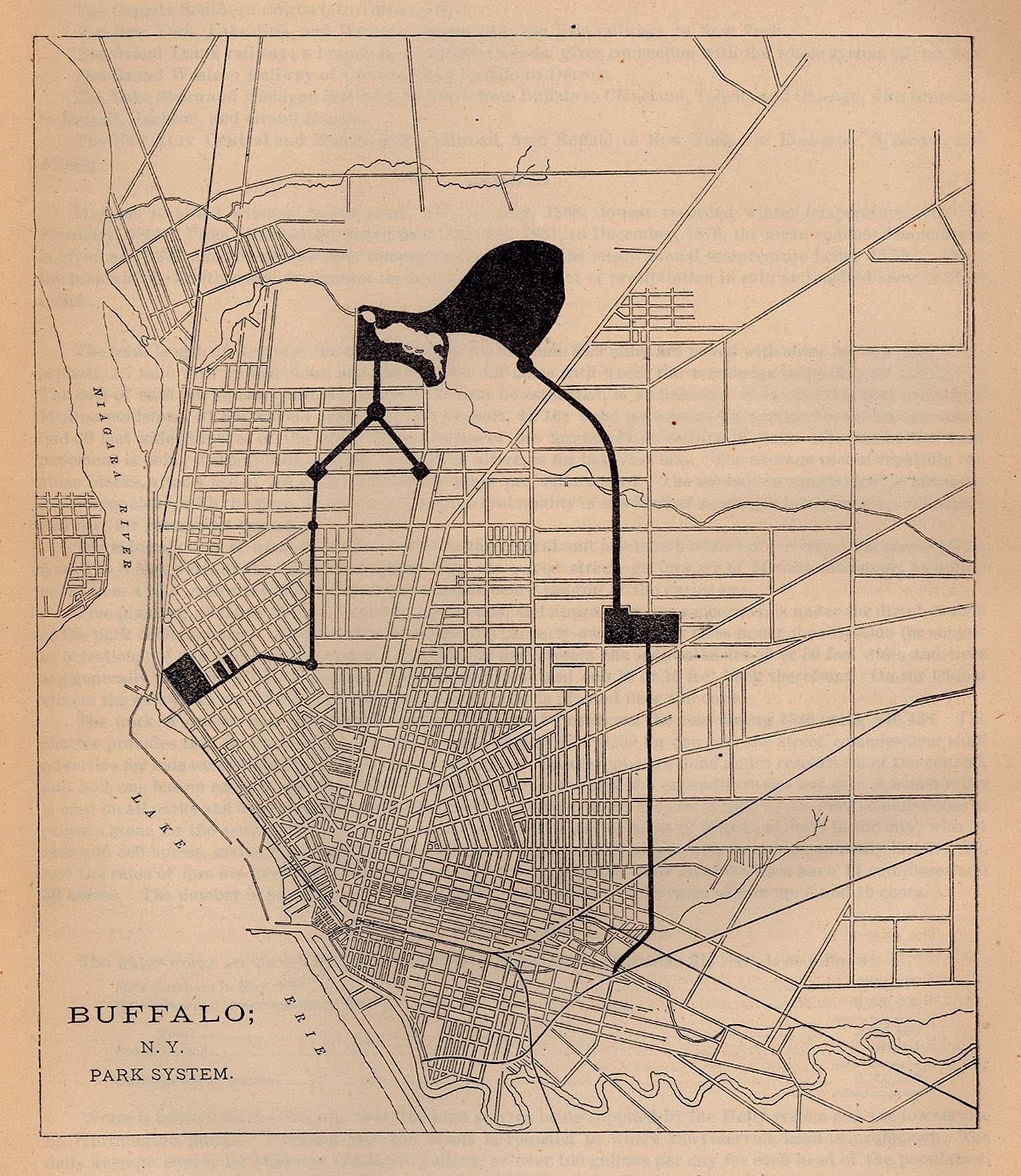 buffalo 1880 park system