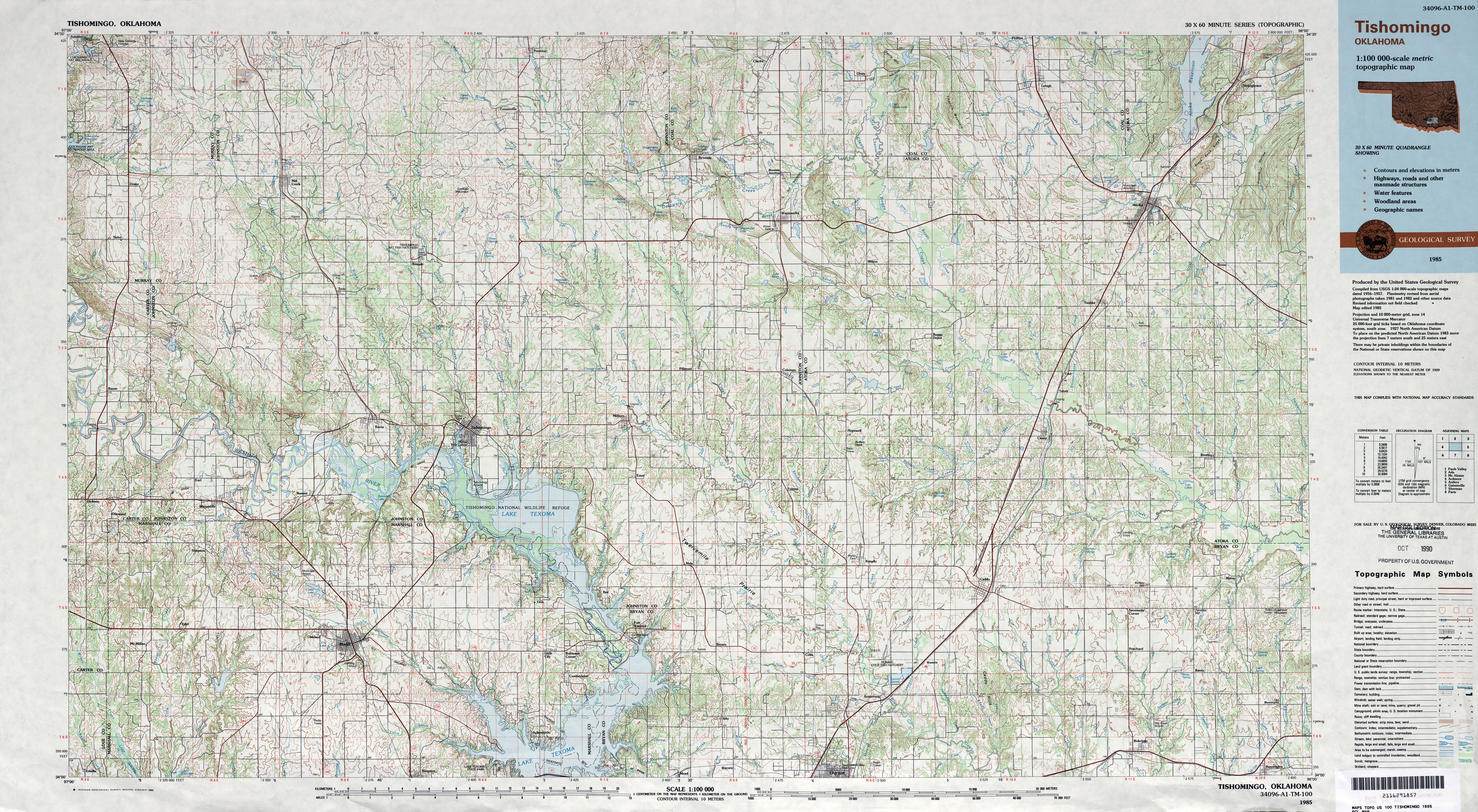Download Free Oklahoma Maps
