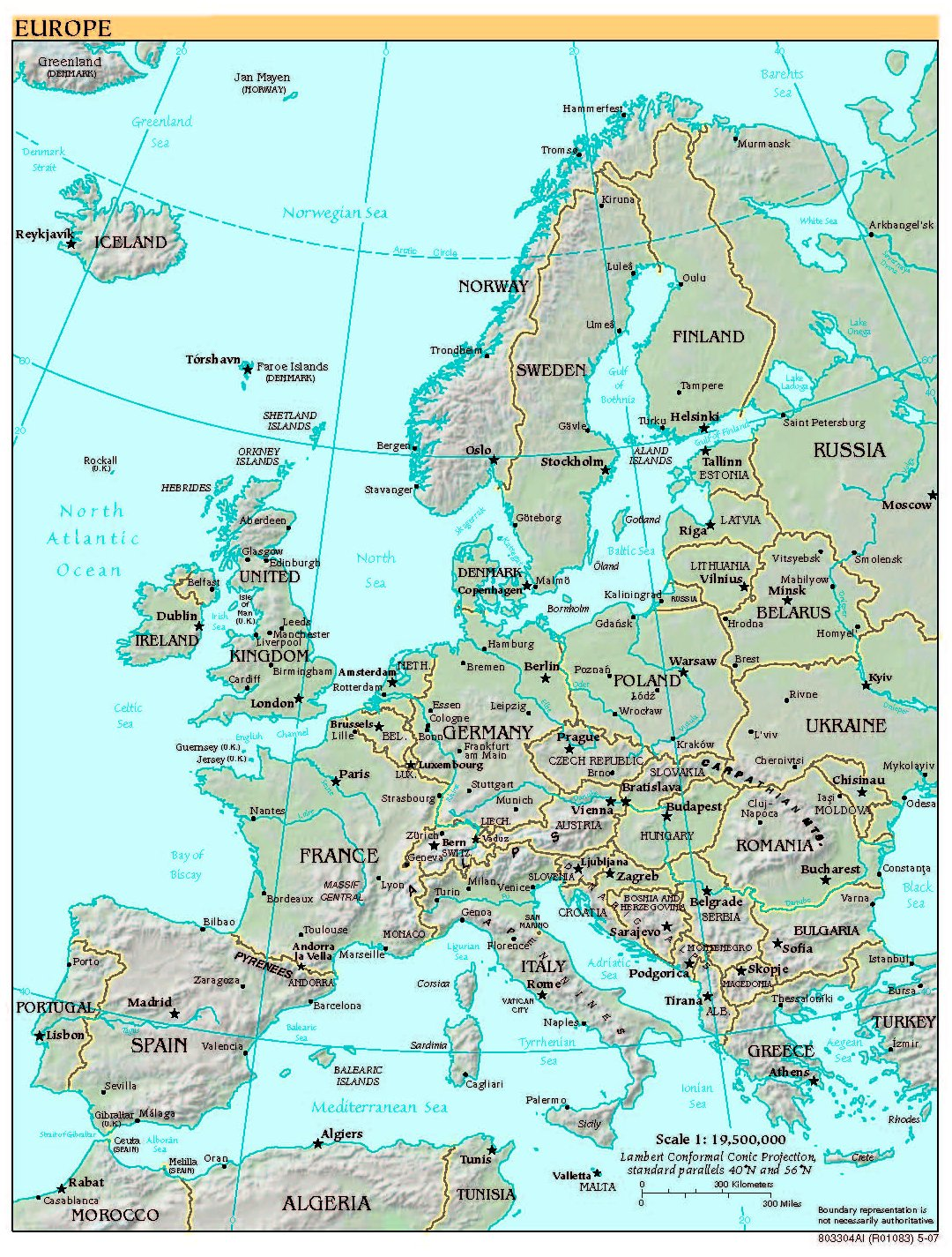 High Resolution Map Of Europe.Free High Resolution Map Of Europe
