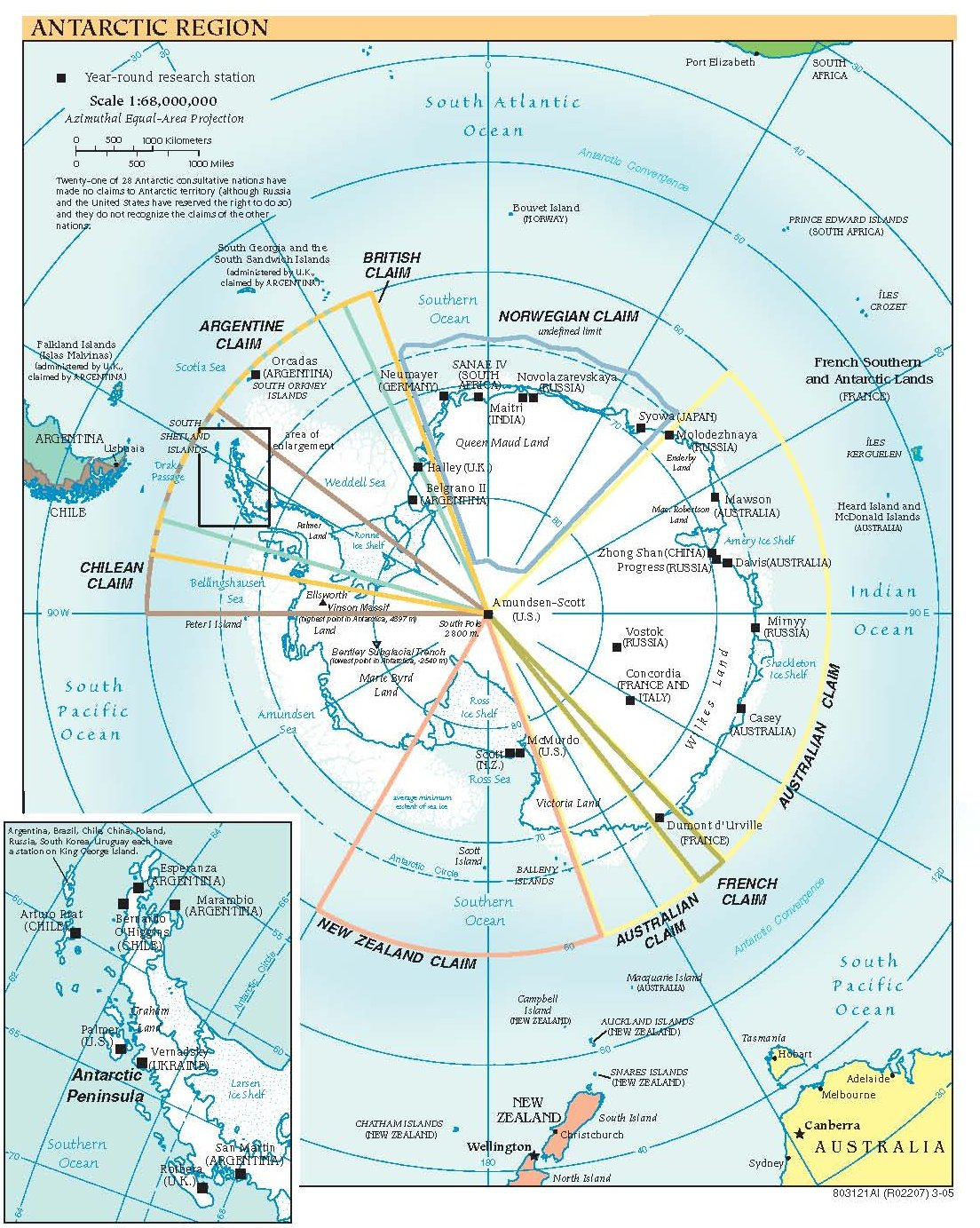 Free High Resolution Map Of Antarctica - Antarctica maps
