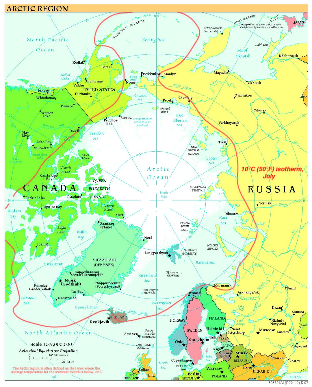 Free high resolution map of the arctic jpg 336k gumiabroncs Image collections