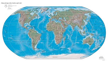 Free High Resolution Map of the Physical World