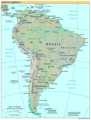 Free high resolution map of south america gumiabroncs Images
