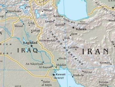 Free World Maps - Regional Maps - Physical maps