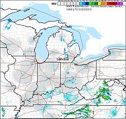 Central Great Lakes Radar Maps