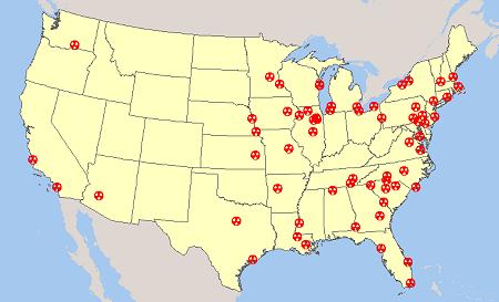 U.S. Nuclear Reactor Power Plant Seismic Hazard Earthquake ...