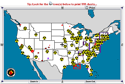 Us Restricted Airspace Map National Interagency Airspace Information Maps
