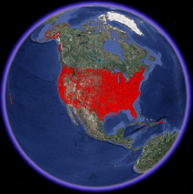 Gis World Map Shapefile.Wireless Cell Phone Risks Dangers