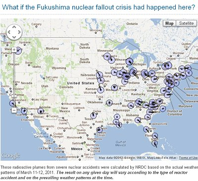 120 Million Americans at Risk to Fukushima-like accident