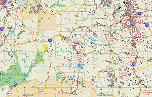 Download GIS Shapefiles - FSA, GNIS, zip code, climate, tornadoes
