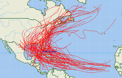 Natural Disaster Series Download free Hurricane GIS Shapefile