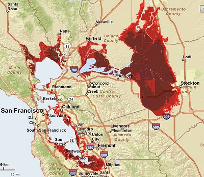 Sea Level Rise Impact Maps Help Assess and Anticipate Effects