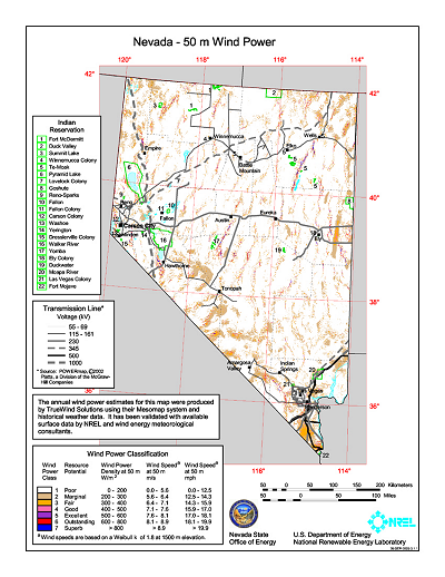 Download free nevada wind energy maps gumiabroncs Image collections